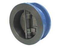 Клапан чугунный двухстворчатый межфланцевый ДУ250